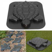 Kerti beton öntőforma teknős 44 x 30 x 4,3 cm