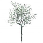 Zöld növény betűzős műanyag 42cm natúr, fehér