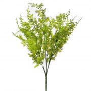 Selyemvirág páfrány csokor 40cm zöld