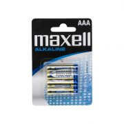 Mikroceruza elem AAA • LR03 Alkaline • 1,5V 4 db/bliszter