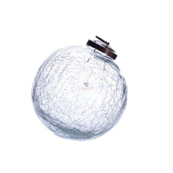 Gömbdísz 5cm átlátszó Karácsonyfa gömb