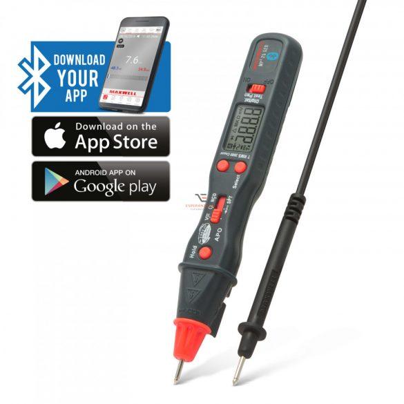 Smart, digitális multiméter TOLL kivitel Bluetooth kapcsolattal