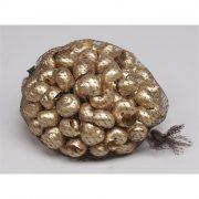 Csiga 250gr arany karácsonyi termés