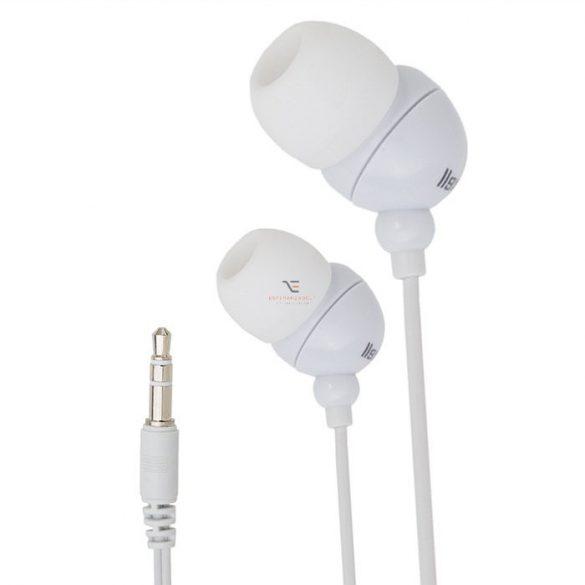 Fülhallgató 20 - 20 000 Hz Jack dugó 1.2 m