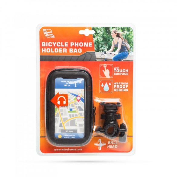 """Kerékpáros telefontartó táska - érintőfelülettel - 5,5""""-ig"""