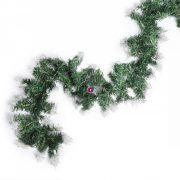 Girland havas zöld fenyő, dús 150 cm