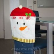 Székdekor - hóember