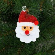 Karácsonyfadísz szett mikulás 2 db / csomag