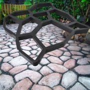 Térkősablon öntőforma betonhoz 50x50 cm