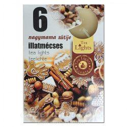 Gyertya Illatos teamécses Grandma's Cookies 6db/szett
