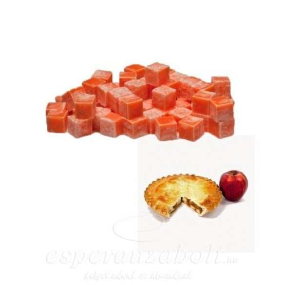 Viasz kocka illatos 3x3x3cm almás pite 8 db-os szett