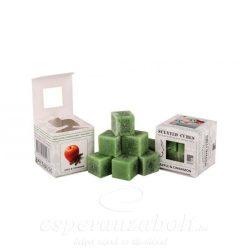 Viasz kocka illatos 3x3x3cm alma-fahéj 8db/doboz