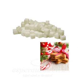 Viasz kocka illatos 3x3x3cm christmas cookies 8db/doboz