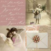 Papír Szalvéta 3 rétegű - Angel Wings 33x33cm rózsaszín, natúr  20db/csomag