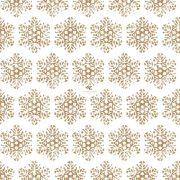 Papír Szalvéta 3 rétegű - Snow Crystal gold 33x33cm fehér, arany 20 db karácsonyi asztali kellék