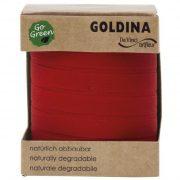 Kötöző szalag lebomló papír 10mmx100m piros
