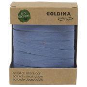Kötöző szalag lebomló papír 10mmx100m kék