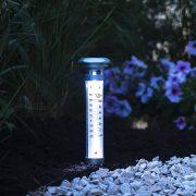 Grundig Napelemes lámpa hőmérővel 57cm