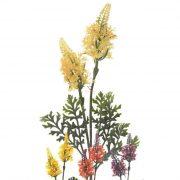Selyemvirág nyári orgona 38cm citromsárga, narancsaárga, lila, bézs 4 féle