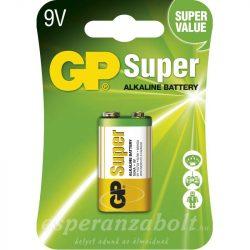 GP SUPER ALKÁLI ELEM 9V 1DB/BLISZTER