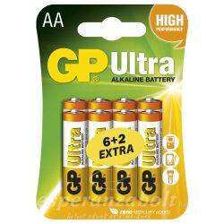 GP ULTRA CERUZA ELEM LR6 (AA) 6+2 BLISZTER
