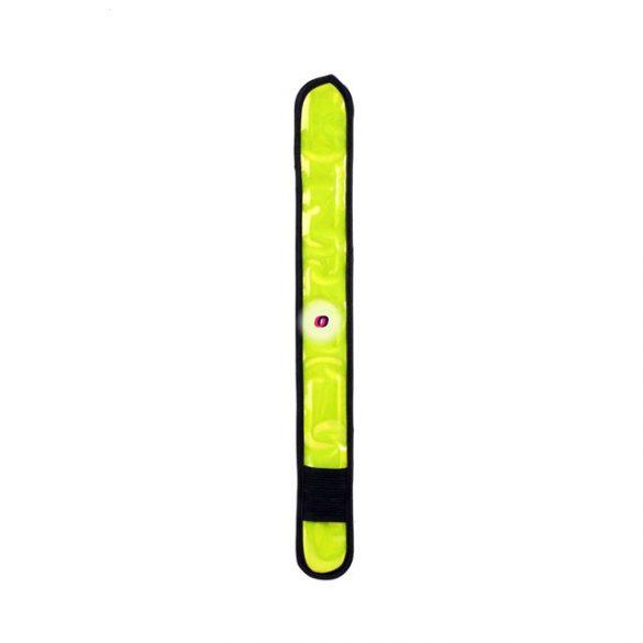 Rácsapós fényvisszaverő/villogó karkötő