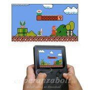 Hordozható Retro Konzol 120 beépített játékkal - TV játék