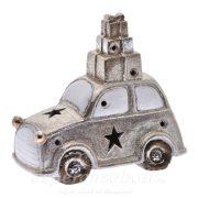 LED Autó dobozzal csillámos, kerámia 22*11*20cm arany