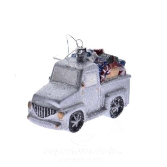 Teherautó akasztós műanyag 3 féle 11,7x5,6x7,4cm