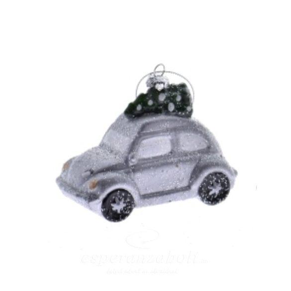 Autó akasztós műanyag 11.1x5.9x7.1cm 3 féle