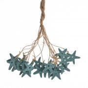 Tengeri csillag akasztós fa 4cm zöld