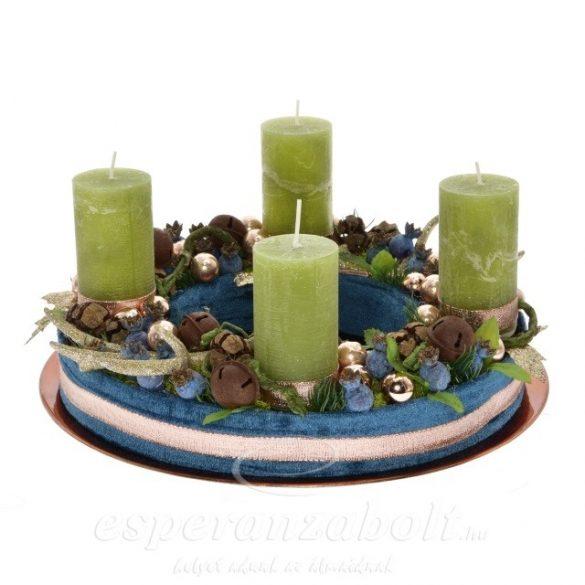 Karácsonyi dekoráció adventi koszorú