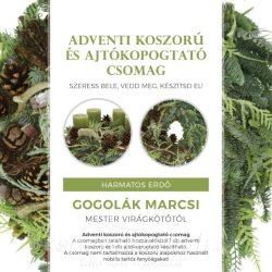 Koszorú és kopogtató kreatív csomag by Gogolák Marcsi