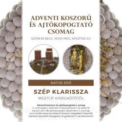 Koszorú és kopogtató kreatív csomag by Szép Klarissza