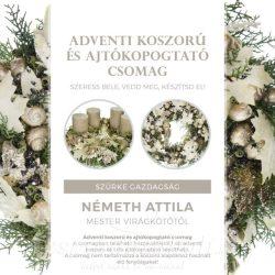 Koszorú és kopogtató kreatív csomag by Németh Attila