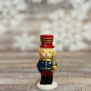 Diótörő álló poly 2.5x2x6cm piros,zöld,kék 4 féle karácsonyi figura