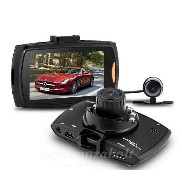 Full HD Tolató és fedélzeti kamera magyar menüs