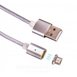 Esperanza Micro USB 2.0 A-B M/M mágneses töltő kábel EB230