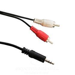 Esperanza mini Jack - RCA 2x átalakító kábel 3m EB242