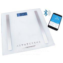Esperanza B.FIT 8in1 fürdőszobai Okos Mérleg Bluetooth fehér EBS016W