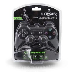 Esperanza Gamepad Ps2/ps3/pc Usb Corsair Black