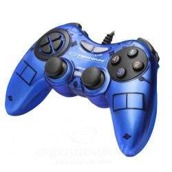 Esperanza Fighter Gamepad PC Kék EGG105B