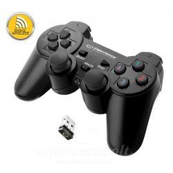 Esperanza Wireless Gamepad 2.4Ghz Ps3/pc Usb Gladiator Black