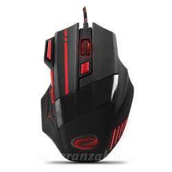 Esperanza Egér For Gamers 7D Opt. Usb Mx201 Wolf Red