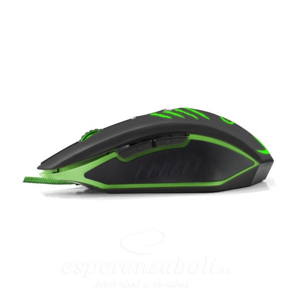 Esperanza optikai Egér FOR GAMERS MX209 CLAW