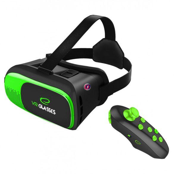 Esperanza Virtuális Valóság 3D VR Szemüveg Bluetooth távirányítóval Apocalypse