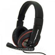 Esperanza Sonata Sztereo Headset mikrofonnal EH118