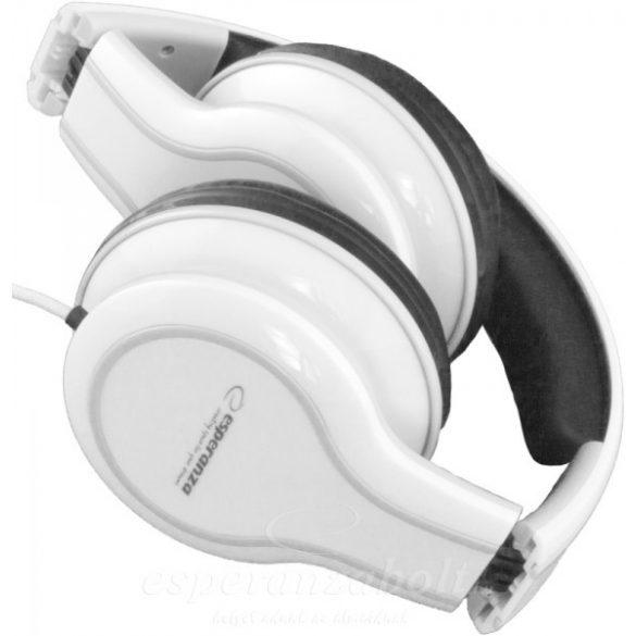 Esperanza Blues Soul Fejhallgató fehér EH136W