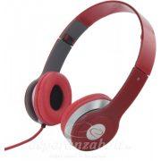 Esperanza Techno Fejhallgató piros EH145R