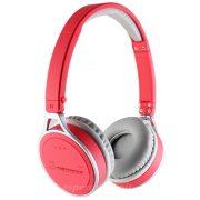 Esperanza Flores Bluetooth Fejhallgató piros EH160R